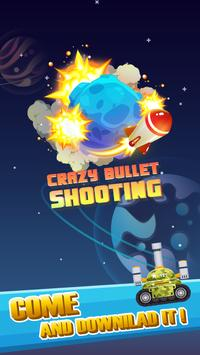 Crazy Bullet Shooting poster