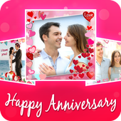 Anniversary Video maker With Music icon