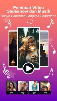 Pembuat Video - Slideshow Foto dengan musik screenshot 8