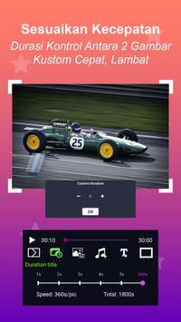 Pembuat Video - Slideshow Foto dengan musik screenshot 19