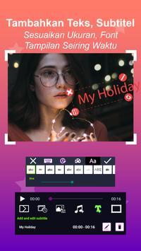Pembuat Video - Slideshow Foto dengan musik screenshot 12