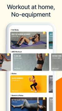 SliimFit: Workout for Women, Lose Weight, Fat Burn ポスター