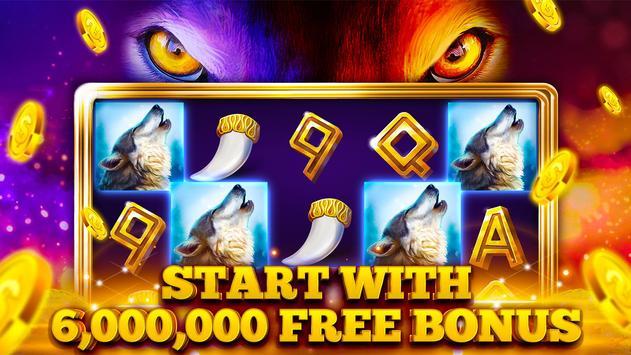 Slots Wolf Magic™ FREE Casino Slot Machine Games poster