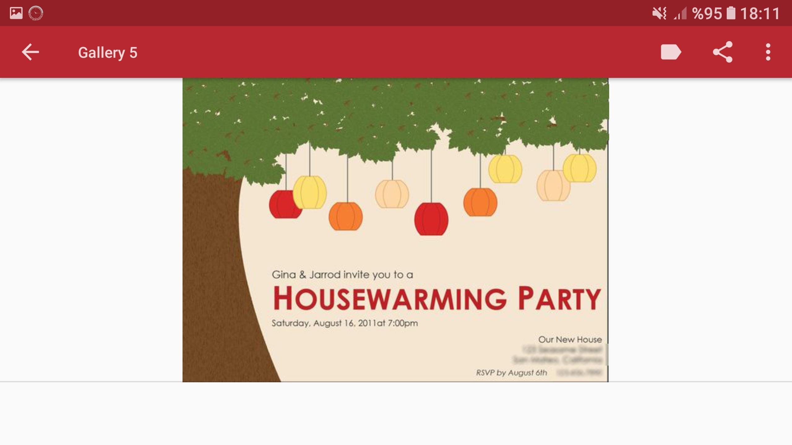 Invitaciones Para Fiestas De Inauguración Casa For Android