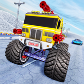 Monster Truck Highway Shooting icon