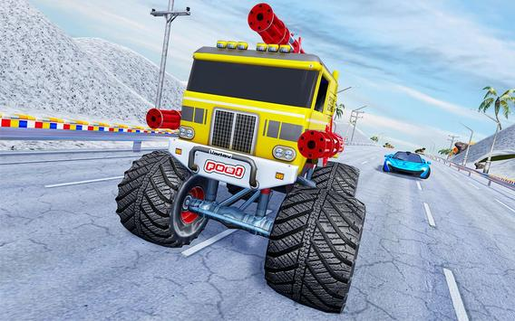 Monster Truck Highway Shooting screenshot 11