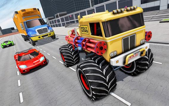 Monster Truck Highway Shooting screenshot 1