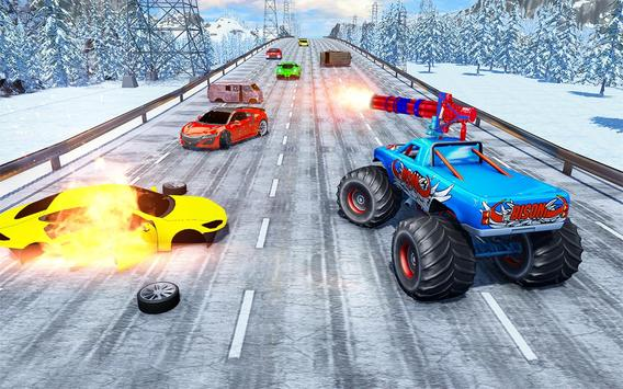 Monster Truck Highway Shooting screenshot 2