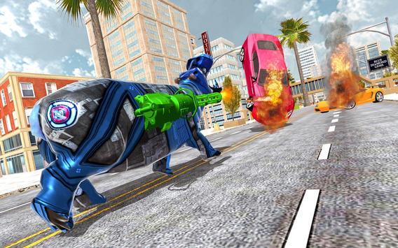 Grand Bull Rampage:City Attack screenshot 12