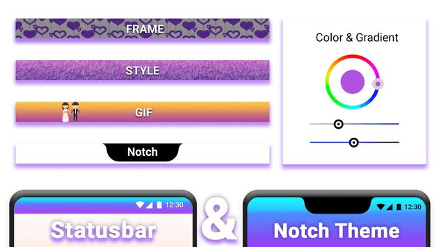 Status Bar & Notch screenshot 6