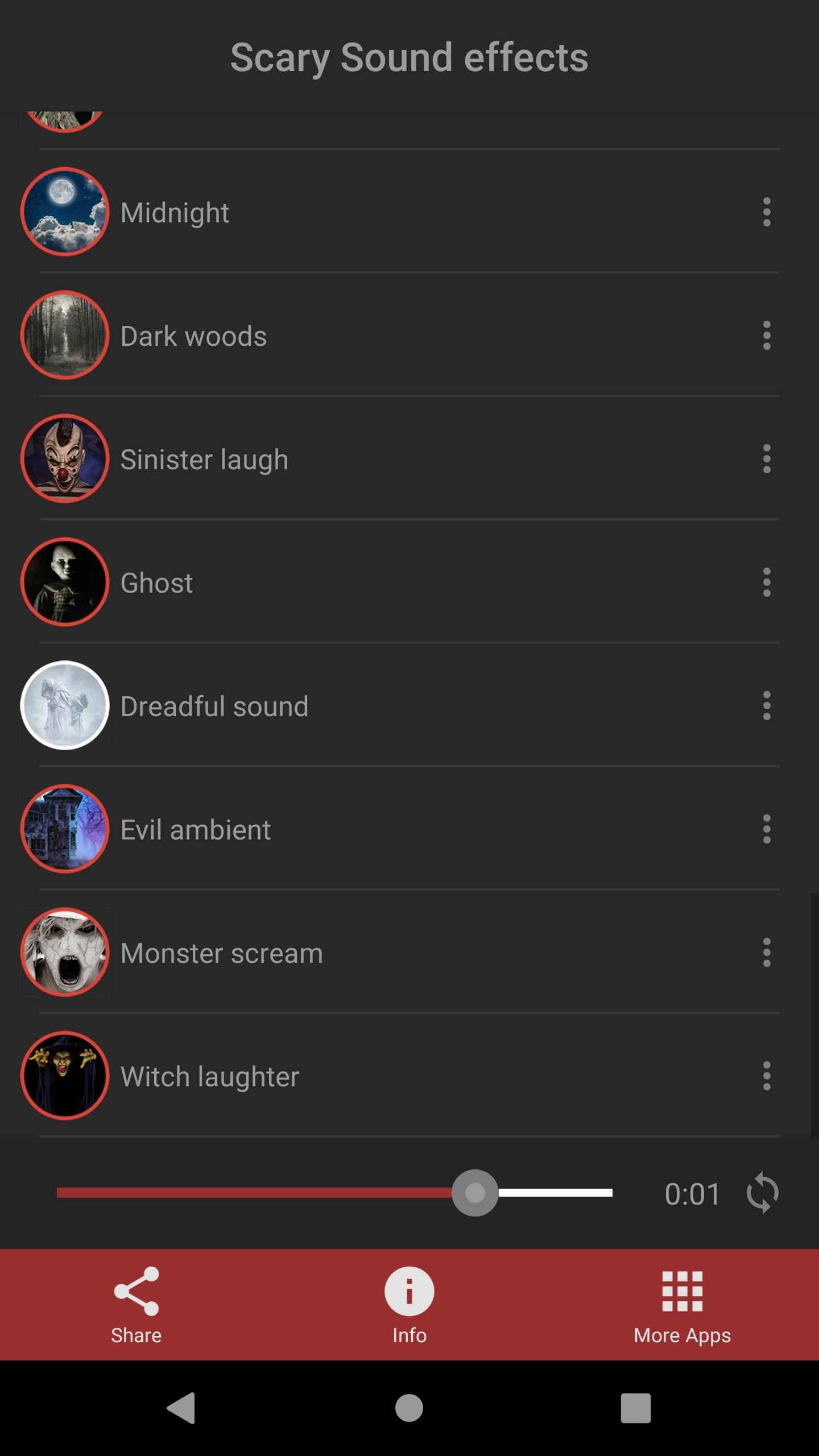 Scary Sound Effects for Android - APK Download