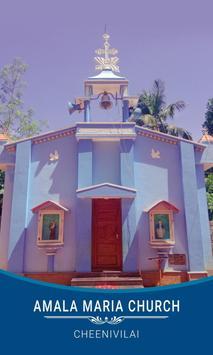 AMALA MARIA CHURCH, CHEENIVILAI poster