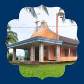 HOLY CROSS church, CHOORAPADAVU icon