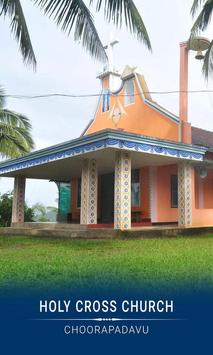HOLY CROSS church, CHOORAPADAVU poster