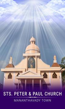STS. PETER PAUL CHURCH MANANTHAVADY poster