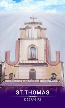 ST.THOMAS CHURCH, DEEPAGIRI poster
