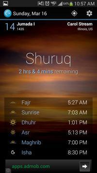 Beautiful Prayer Times screenshot 1