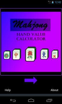 Mahjong Hand Score Calculator poster