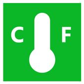 Celsius Fahrenheit icon