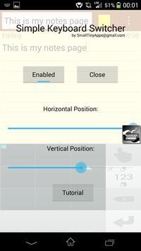 Simple Keyboard Switcher Free screenshot 3
