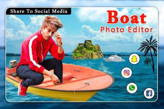 Boat Photo Editor screenshot 3