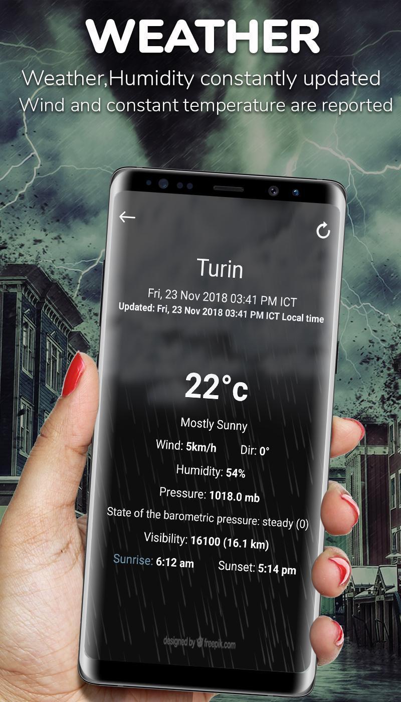 Download Digital Compass For Samsung mobile