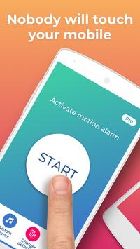 Don't touch my phone: Motion alarm app screenshot 10