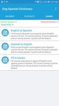 English Spanish Dictionary screenshot 2