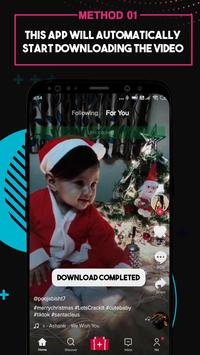 Video Downloader for TikTok - No Watermark تصوير الشاشة 2