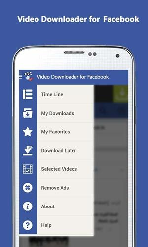 my video downloader for facebook