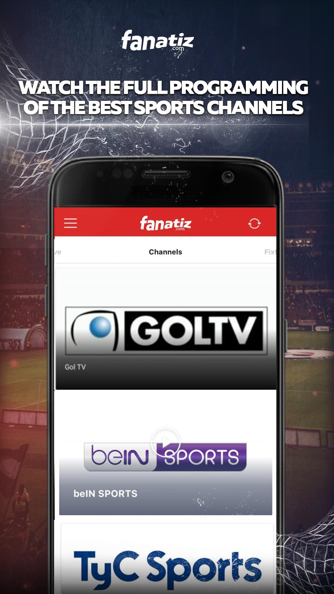 Fanatiz for Android - APK Download