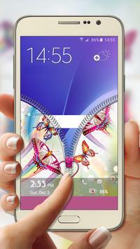 Butterfly Zipper Lock screenshot 3