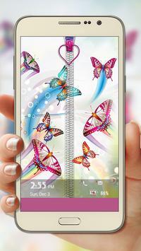 Butterfly Zipper Lock screenshot 1