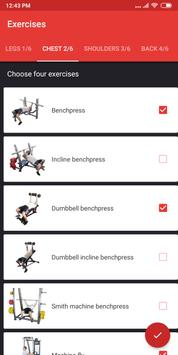 Gym Workout Plan for Weight Training screenshot 5