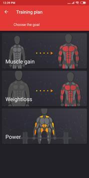 Gym Workout Plan for Weight Training screenshot 7