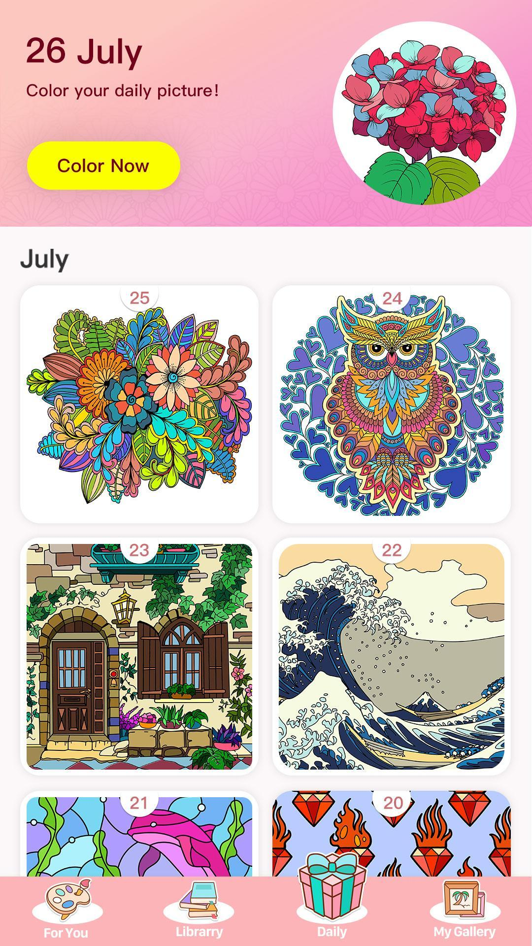 Color Master - Free Coloring Games & Painting Apps for Android - APK ...