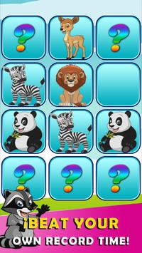 Memory game animals screenshot 3