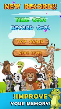 Memory game animals screenshot 16