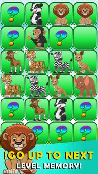 Memory game animals screenshot 18
