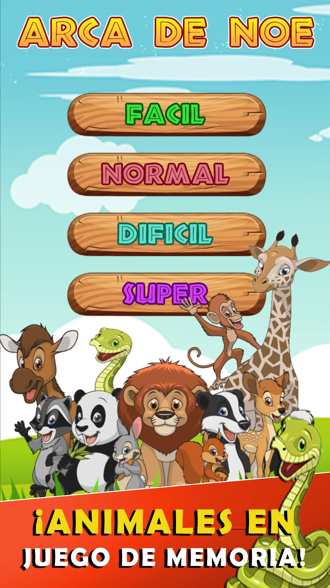 Juego memoria animales for Android - APK Download