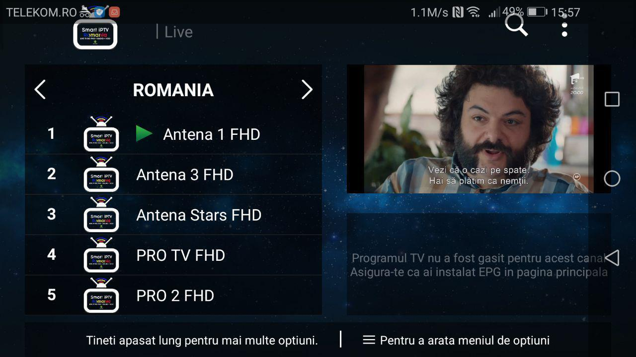 Smart iPTV Romania for Android - APK Download