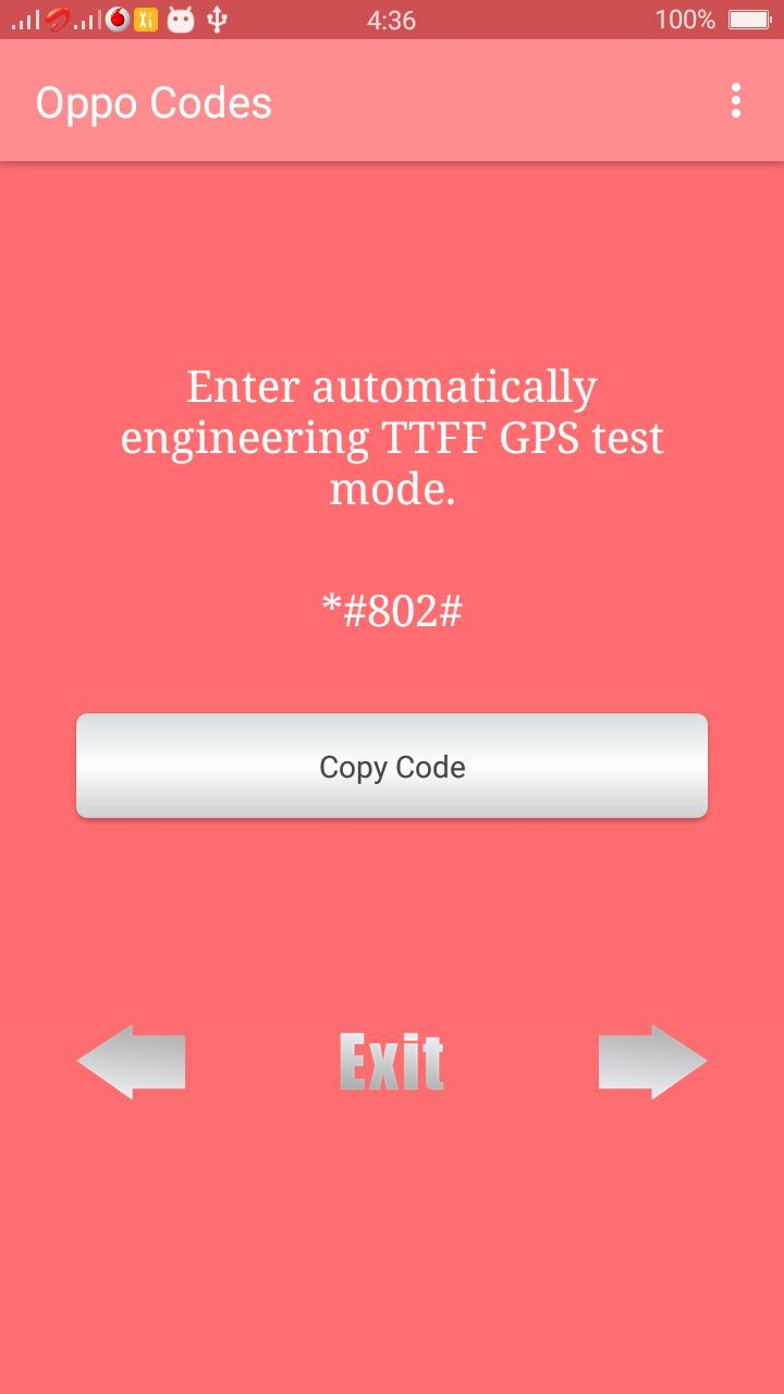Secret codes for Samsung - A Complete codes App for Android