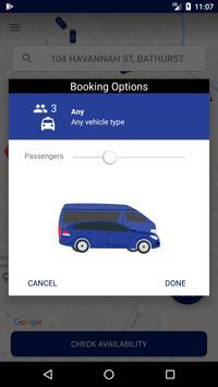 Bathurst Taxis screenshot 3