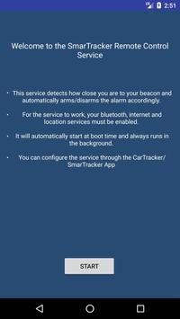Smartracker BLE remote control poster