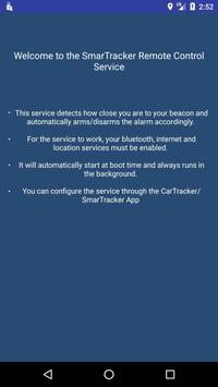 Smartracker BLE remote control screenshot 1