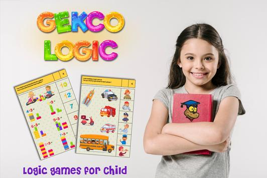 Gekco Logic : Child Education Games poster