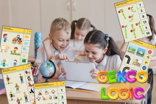 Gekco Logic : Child Education Games screenshot 2