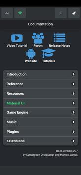 DroidScript Ekran Görüntüsü 3