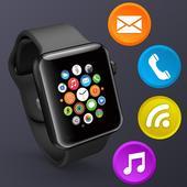 Smartwatch Notifier:sync le téléphone et la montre icône