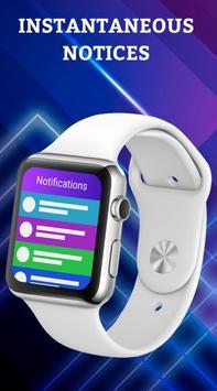 Smartwatch Notifier:sync le téléphone et la montre Affiche